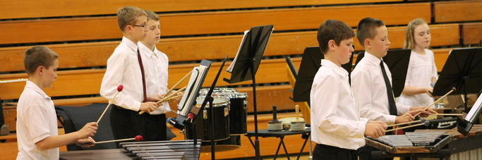 Elementary Band Percussion