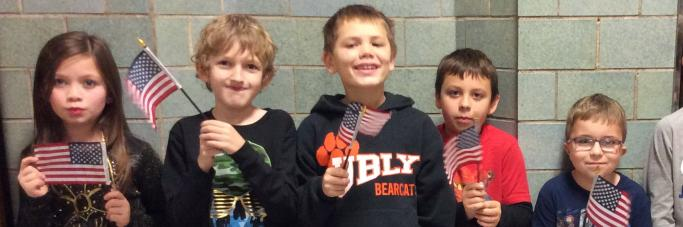 Students celebrate Veteran's Day